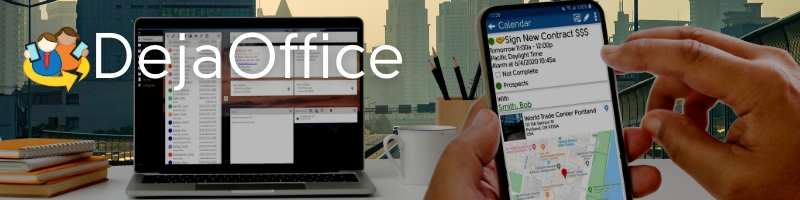 DejaOffice Blog